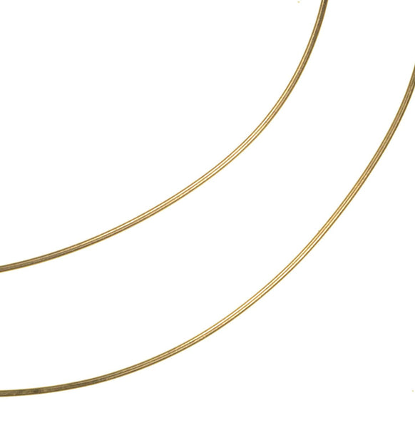 "14kt Gold Jewelry Wire 26 Gauge 14k Hard Temper (Qty=12"")"