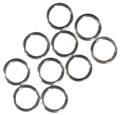 Sterling Silver Closed Jump Ring Round 6mm 20 Gauge (10-pcs)