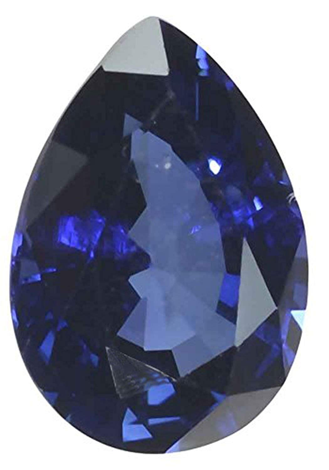 Blue Lab Sapphire Pear Loose Gem 13mm x 9mm