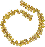 Yellow Songea Sapphire Beads for Expert Stringers Songea 3mm-4.5mm Very Tiny 5 Inch