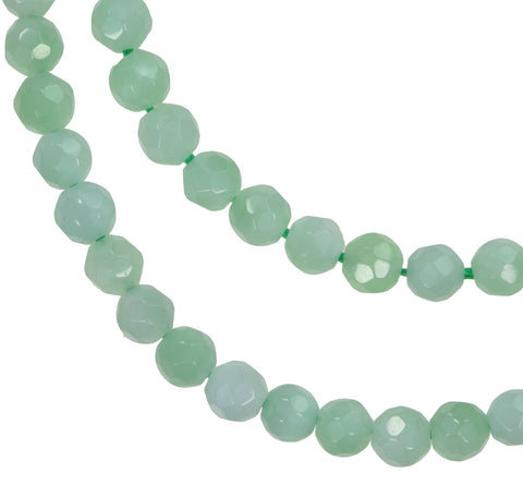 uGems Apple Green Quartz 4mm Strand