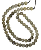 Labradorite Faceted Round Beads Strand Natural ~5.5-6mm