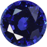 Synthetic Blue Sapphire 7mm Round Loose (Qty=1)
