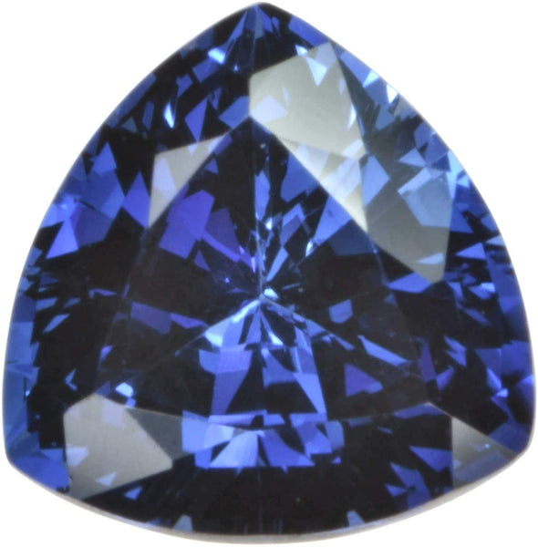 Triangle Blue Created Sapphire Facet Trillion 9mm