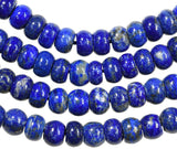 Lapis Lazuli 8mm Button Disc Beads Strand