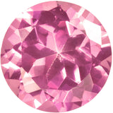 uGems Pink Synthetic Sapphire Round Loose Unset Gem 10mm (1)