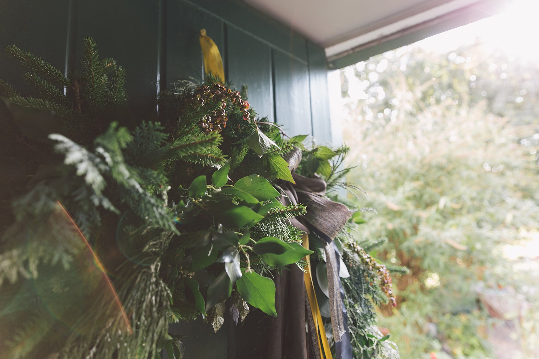 LUXURY FOLIAGE WREATH WORKSHOP - SATURDAY 7TH DECEMBER 2019 - 10am - 12.30pm