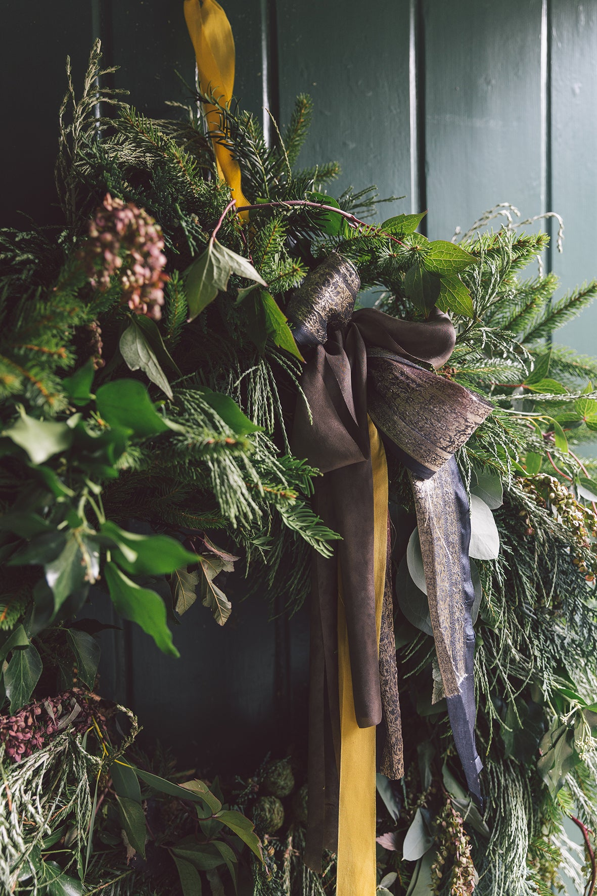 LUXURY FOLIAGE WREATH WORKSHOP - SUNDAY 8TH DECEMBER 2019 - 3pm- 5.30pm
