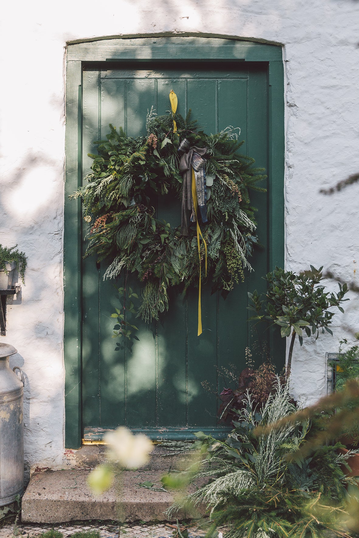 LUXURY FOLIAGE WREATH WORKSHOP - SATURDAY 8TH DECEMBER - 4-7pm