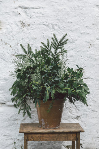 LUXURY FOLIAGE WREATH WORKSHOP - SATURDAY 8TH DECEMBER - 11-2pm
