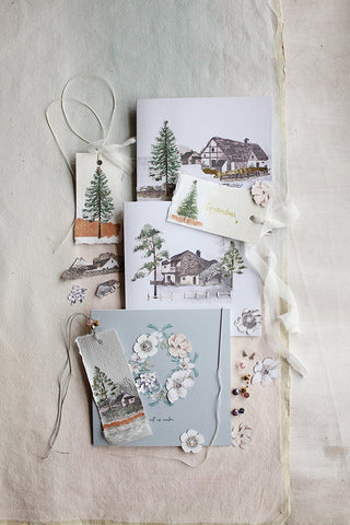 CHRISTMAS HAND MADE STATIONERY - SATURDAY 30TH NOVEMBER - 10-12.30PM ~ THE READING ROOM, CRATHORNE