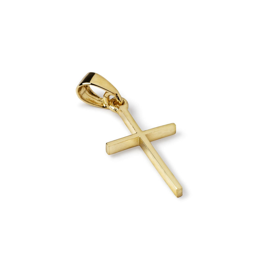 Faith 10k Gold Cross Pendant - Suetables