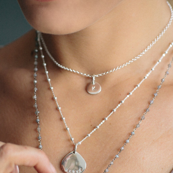 Satellite Chain - Sterling Silver - Suetables