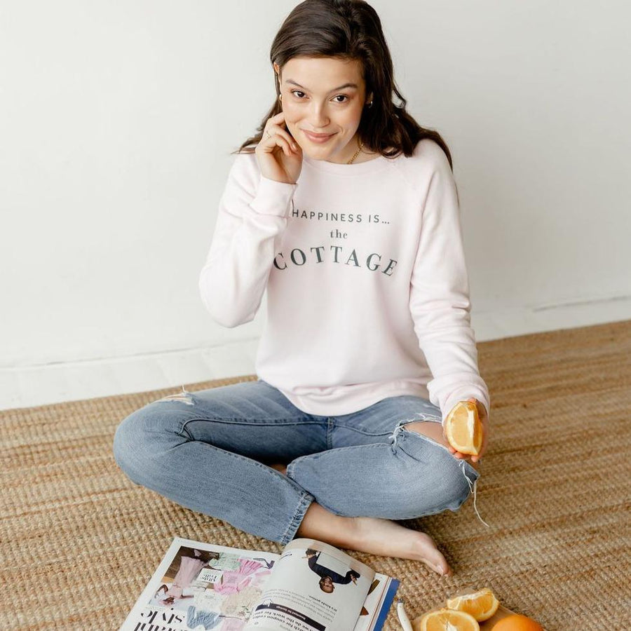 Happiness is... The Cottage Crewneck