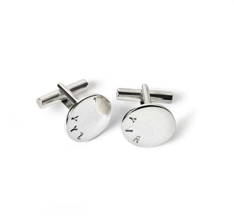 Gavin Round Cuff Links - Suetables