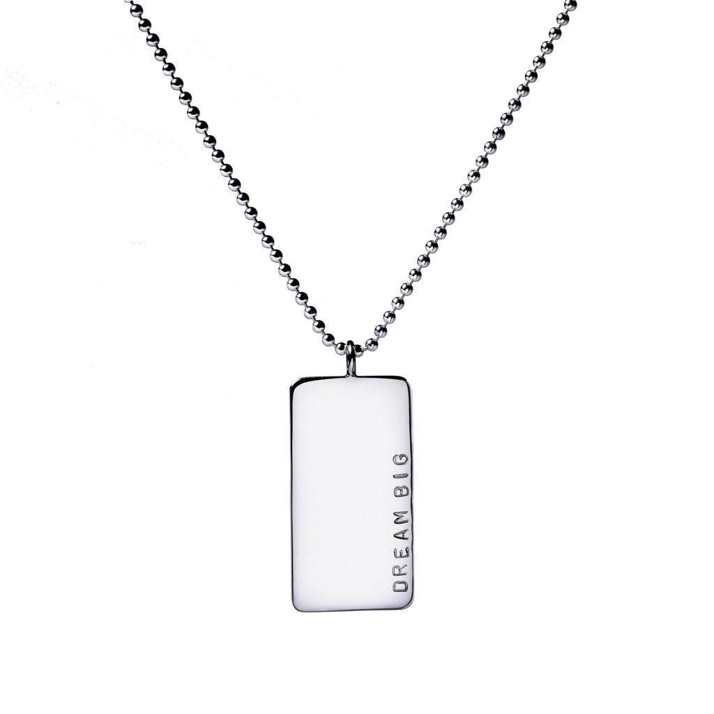 Large Jenna Dog Tag