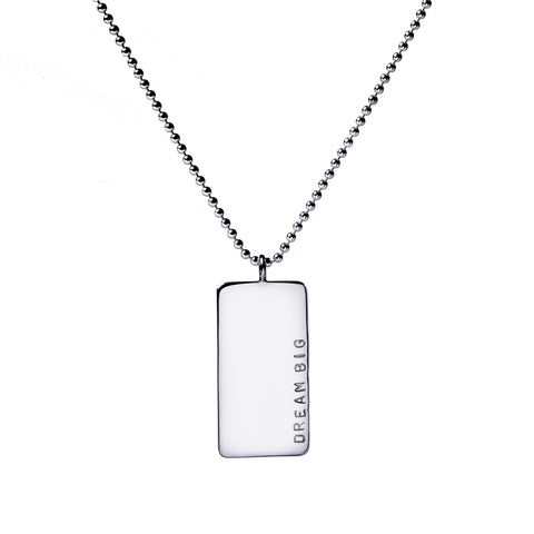 New! Large Jenn Dog Tag