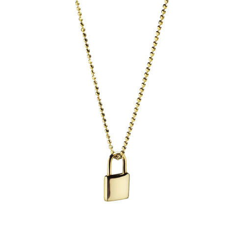 Lesley Love Lock - 10K Yellow Gold & Rose Gold - Suetables