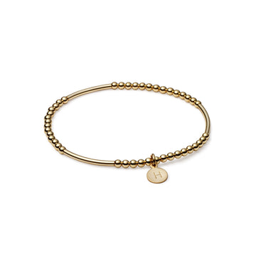 London Tube Gold Bracelet