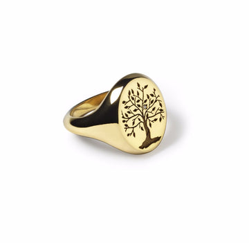 Rachel Ring - Custom Available in Gold - Suetables