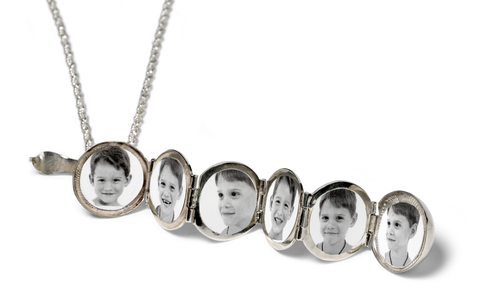 Birgitta Six-Photo Locket - Suetables