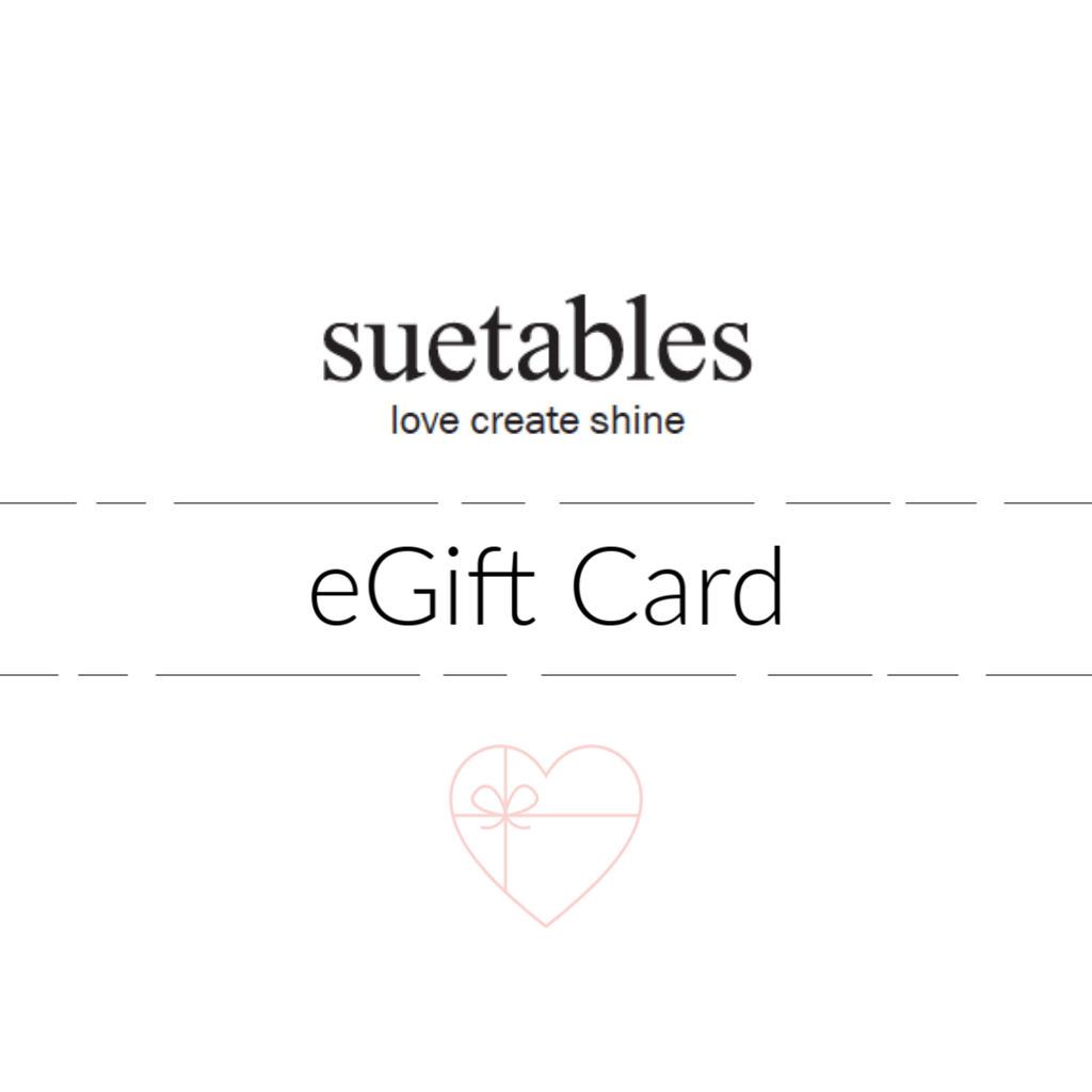 Suetables eGift Card - Suetables