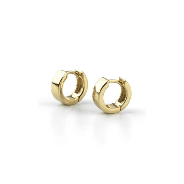 Nora 10k Gold Hoops - Suetables