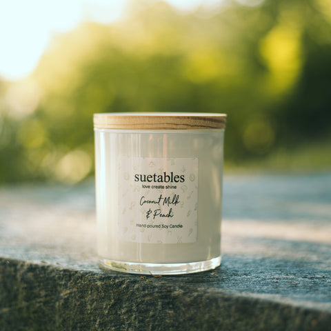 Soy Suetables Candles - Suetables