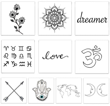 Temporary Tattoos - Inked by Dani