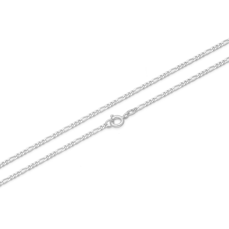 Figaro Chains - Sterling Silver