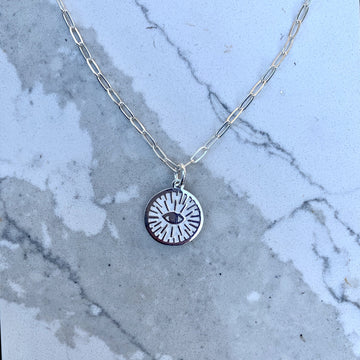 Brianna Protection Eye Pendant