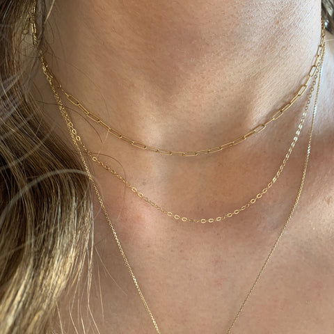 Whisper Gold/ Rose Gold Filled Chains