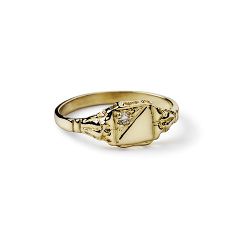 Maxime Diamond signet ring