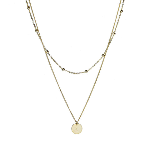 Lola Layered Necklace - Gold & Silver