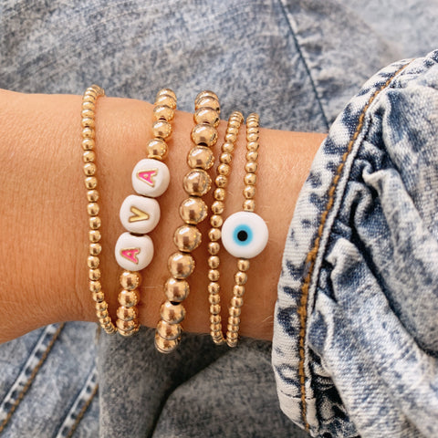 Protection Eye Beaded Bracelet