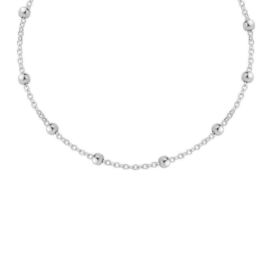 Satti Thick Satellite Ball Choker