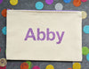 Personalized Name handmade gift zipper pouches