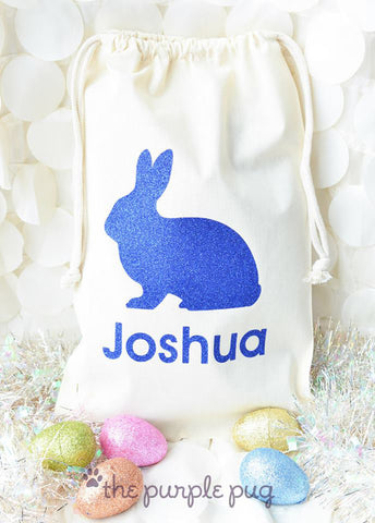 Realistic Rabbit Spring Sparkle Sacks