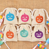 Set of 12 or 25 Tiny + Shiny Halloween JACK O LANTERN Sparkle Sack Party Pack™