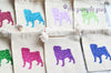 Pug Love Glitter Puppy Sparkle Sack Party Packs™ Set of 12