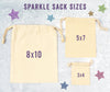 Yellow School Bus Driver Personalized Sparkle Sack