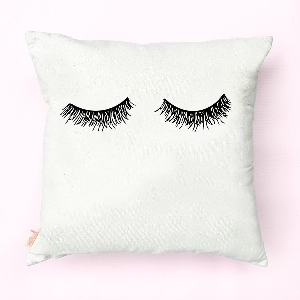Eylelashes Pillow