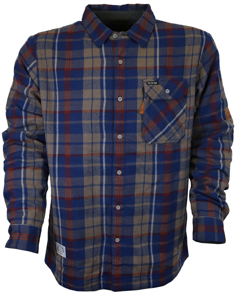 Ski The East Woodbury Fleece Lined Flannel