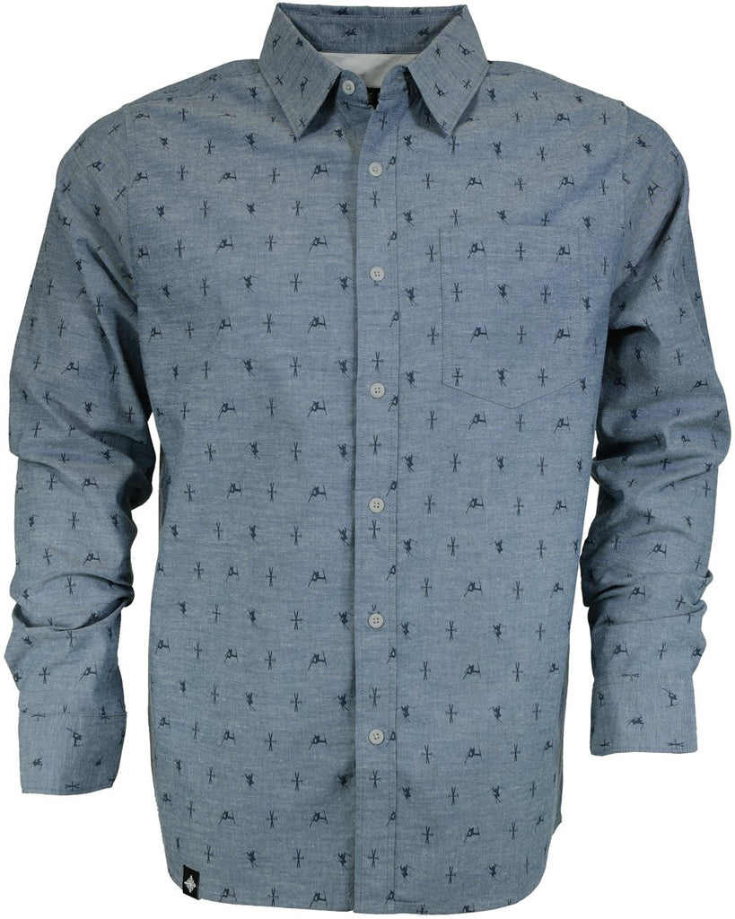 Ski The East Showboat Oxford Shirt