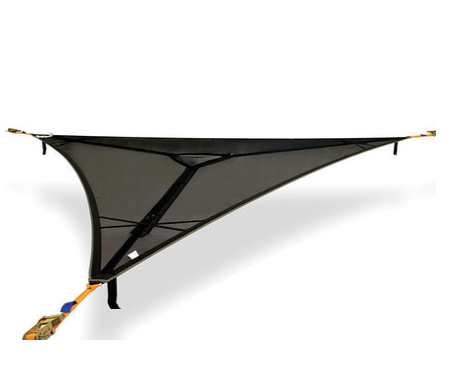 Tentsile Trillium Black Mesh 3 Person Hammock