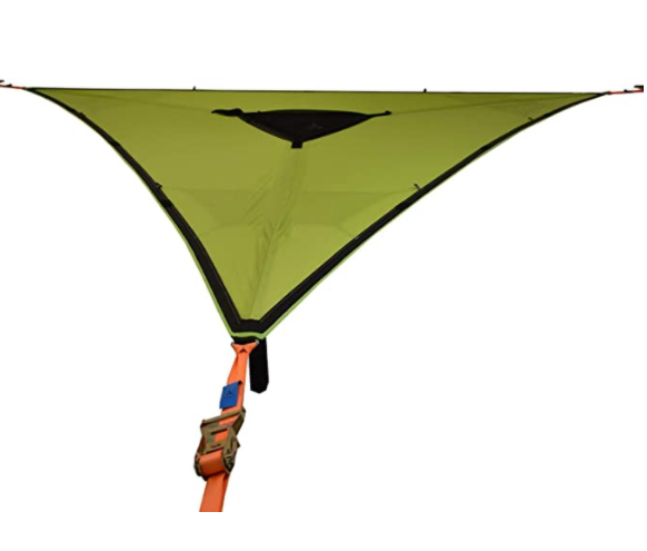 Tentsile Trillium Green Fabric 3 Person Hammock