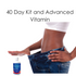 40 Day Kit With Advanced Vitamin - Lose A Pound Daily