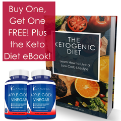 BOGO Apple Cider Vinegar and FREE ebook on The Ketogenic Diet Veteran's Day Sale