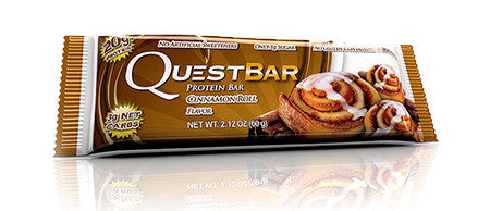 Quest Cinnamon Roll Protein Bar - Lose A Pound Daily