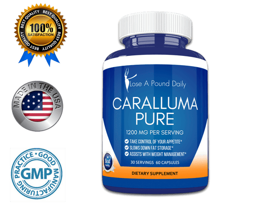 Caralluma Appetite Suppressant and Weight Loss Aid 1200mg